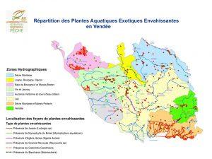 Carte Plantes Envahissantes Vendée